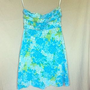 Lilly Pulitzer strapless dress size XS